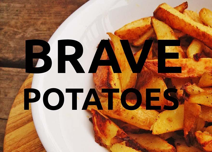 traducció literal patates valentes