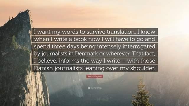 escribir para traducir