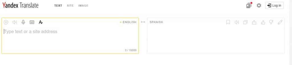 ndex: la respuesta rusa al Traductor de Google